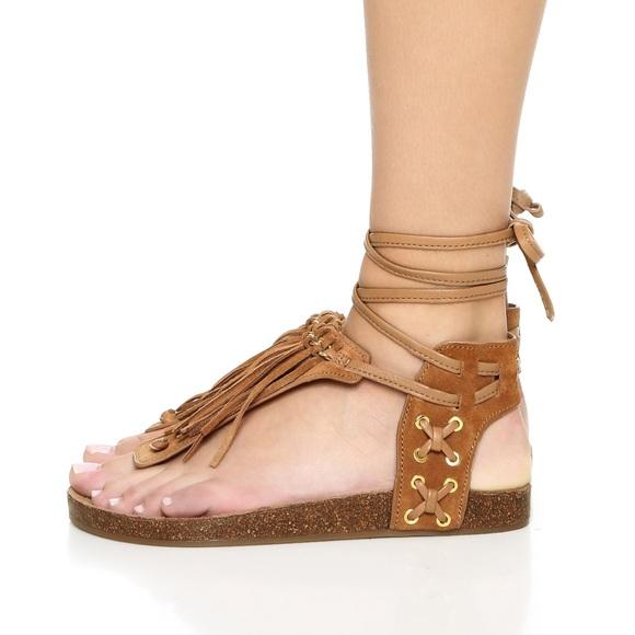 Sam Edelman Kyra Flat Fringe Sandals